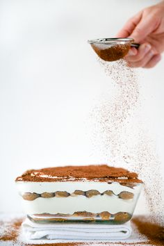 TIRAMISU (classic construct) ~~~ recipe gateway: this post's link AND http://userealbutter.com/2014/05/22/tiramisu-recipe/ [Italy] [reneekemps] [userealbutter]