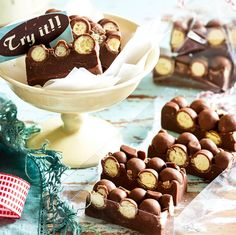 Chocolate Malteser Fudge - Celebrity & Royal News, Food, Real Life & Travel | New Idea Magazine