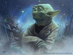Star Wars: TCG - Yoda by AnthonyFoti.deviantart.com on @DeviantArt