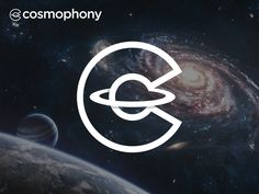 Cosmophony logo designed by Mark Forge. Connect with them on Dribbble; Hobbies For Women, Hobbies To Try, Hobbies That Make Money, Logos, Logo Branding, Branding Design, Logo Design Inspiration, Icon Design, Global Logo