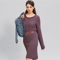 Платье с узором из снятых петель