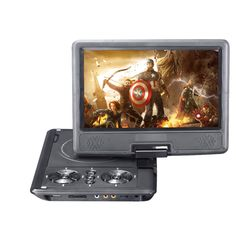 58.89$  Buy here - http://aliv98.worldwells.pw/go.php?t=32748562248 - New 9 inch DVD Player TFT Screen Display Portable DVD EVD Player TV VCD CD MP3/4 USB GAME Mobile TV For EU Socket Plug