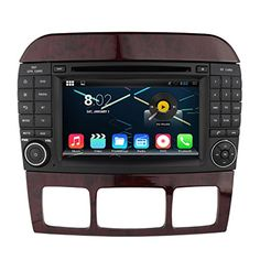 Quad Core 1024600 Android 5.1 Car DVD GPS Navigation Multimedia Player Car Stereo for Benz S Class W220 S280 S420 S430 S320 S350 S400 S500 S600Radio 3G Wifi Bluetooth Steering Wheel Control -- Awesome products selected by Anna Churchill