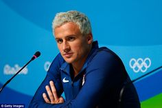 Ryan Lochte (right) has been suspended for 10 months by the International Olympic Committee after he falsified claims about being robbed at gunpoint in Rio