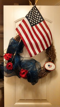 Patriotic wREath sold for $36.  Message for inquires/options.