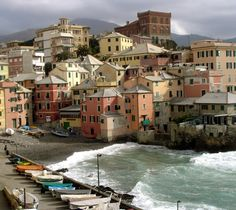 A hidden gem, this little fishing village is tucked away next to Genoa. (Nervi, Italy)
