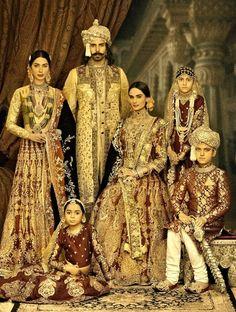 India Portrait of the Royal Mughal Family. Akbar Aqiqa Sultan The Tragedy of Mughal Emperor Akbars Elder Siblings Al Aman & Aqiqa