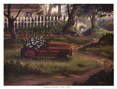Hero's Garden Fine-Art Print by Michael Humphries at UrbanLoftArt.com