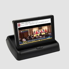 For Holden Barania / Captiva / Epica / Matiz / Viva Foldable Car HD TFT LCD Monitor Screen Display NTSC PAL Color TV System
