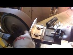 Hollow Grind on Your Knife | Hollow Bevel Grind Jig | GET THE JIG PLANS - YouTube