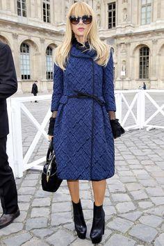 Rachel Zoe at Louis Vuitton, Spring 2013