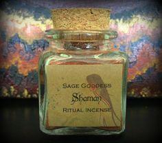Shaman Ritual Incense  Herbs Resins & Oils by TheSageGoddess, $18.00