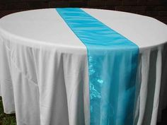 organza table runner and wedding runner Top Supply