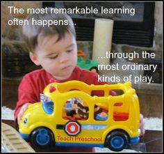 Remarkable Learning through Ordinary Play by Teach Preschool