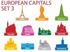 European Capitols Printable 3 - KidsPressMagazine.com