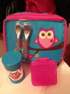 Got this little set for Ellora's Birthday :) She will love it! Our Generation Owl Lunchbox