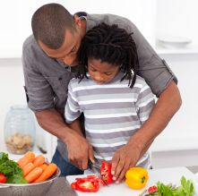 Cooking with Kids: Teaching Kids with Special Needs How to Prepare Meals -- Brain Balance Centers Healthy Lunch For School, Healthy Kids, Healthy Living, Healthy Grilling, Healthy Cooking, Healthy Recipes, Healthy Meals, Healthy Food, Healthy Habits
