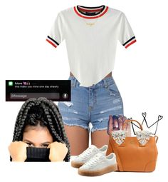"""Saucyyy"" by muvaaliyah ❤ liked on Polyvore featuring WithChic, Puma and Tory Burch"