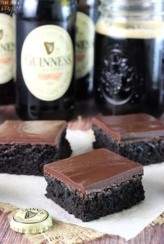 Guinness Chocolate Brownies