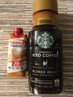 Premier Protein And Blonde Cold Brew Is A Nice Alternative To The Espresso Recipe 2 Points For 12oz Coffee 1 Full Carton Of PP