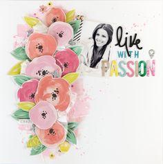 Live+with+passion - Scrapbook.com