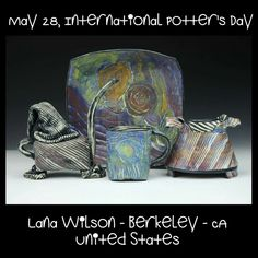 Lana, Pottery, Gallery, Artist, Painting, Color, Inspiration, Image
