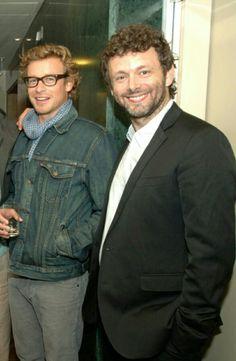 Simon Baker ❤ & Michael Sheen ❤