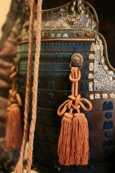 Samurai armor details, just say yes, to nipple tassels!