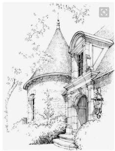 63 Ideas house drawing sketches pencil for 2019 Building Drawing, Building Sketch, Drawing Sketches, Pencil Drawings, Art Drawings, Drawing Ideas, Pencil Shading, House Sketch, House Drawing