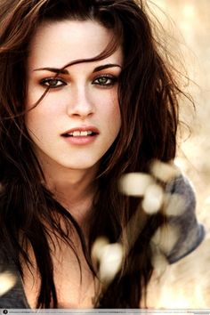 Kristen Stewart. I would like her hair, makeup, and flawless skin please. Say what you want about her acting, this girl is GORG