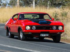 Ford XB Falcon GT 351 Hardtop.