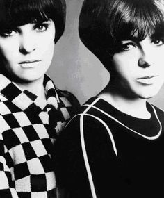 Foale and Tuffin...60's London design duo.  Often over shadowed by the Mary Quant-ness that was mid 60's London - I think they've been woefully under represented in the annals of Fashion History. They gave you FAB!!!