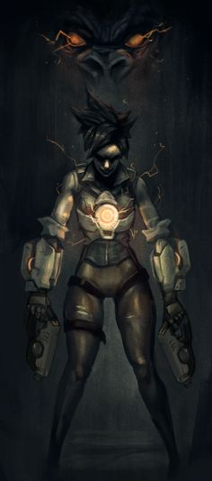Overwatch vs Dark Souls, by Andrew Tran.