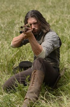 Cullen Bohannon - Anson Mount in Hell on Wheels, set in the 1860s (TV series 2011-).