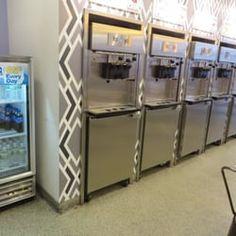 Photo of FroZenYo - Boston, MA, United States. frozen yogurt pumps 5/2015