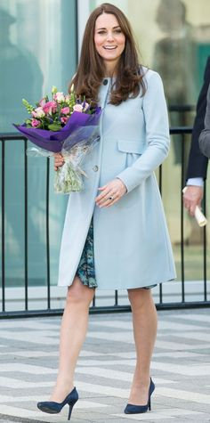Look of the Day - January 20, 2015 - Kate Middleton in Seraphine from #InStyle