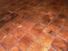 Barnwood Bricks Oak End Grain Flooring