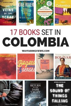 The 17 Best Books About Colombia: Loss, Love and Perseverance : Stock up on books set in Colombia. This list of epic reads features novels, non-fiction and history, all featuring Colombia as the main character. Books on Colombia Best Travel Books, Literary Travel, Travel Tips, Columbia South America, South America Travel, America City, Central America, South America Destinations, Holiday Destinations