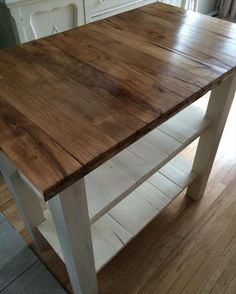 handmade pallet kitchen island table