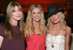 3 of the buffy girls