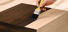 how to match a wood stain
