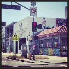 Melrose Avenue in Los Angeles, CA