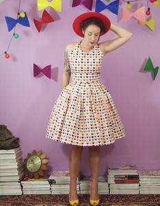 Sweetheart Tea Dress by Alexandra King