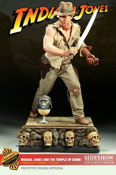 Sideshow Collectibles - Indiana Jones - Premium Format Figure - Statue HQ Statue Guide
