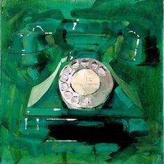 Green Bakelite Telephone - James Paterson - http://www.james-paterson.com/#10 - https://www.flickr.com/photos/28908493@N02/2697931067/