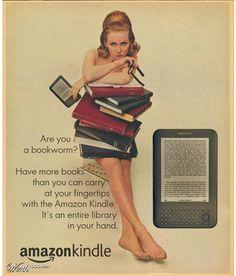 Il Kindle, il lettore di libri elettronici di Amazon.