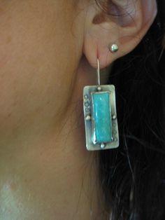 Witsend Earrings by KBerlinMetalsmith on Etsy