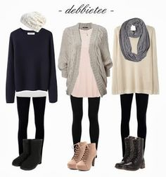 3 Fall Outfits