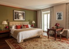 FOUR SEASON HOTEL IN MILAN BED by Portoflex