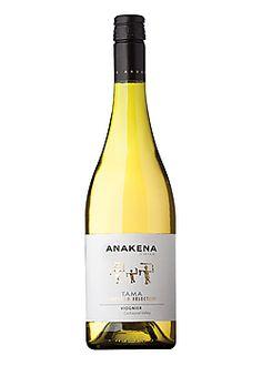 Anakena Viognier Tama Vineyards Selection Chilean Wine, The Selection, Seafood, Vineyard, Bottle, Drinks, People, White Wines, Sea Food